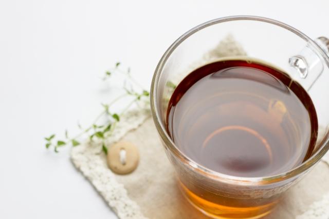 ミントティー,紅茶