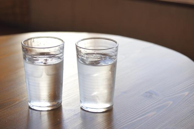 透明グラス