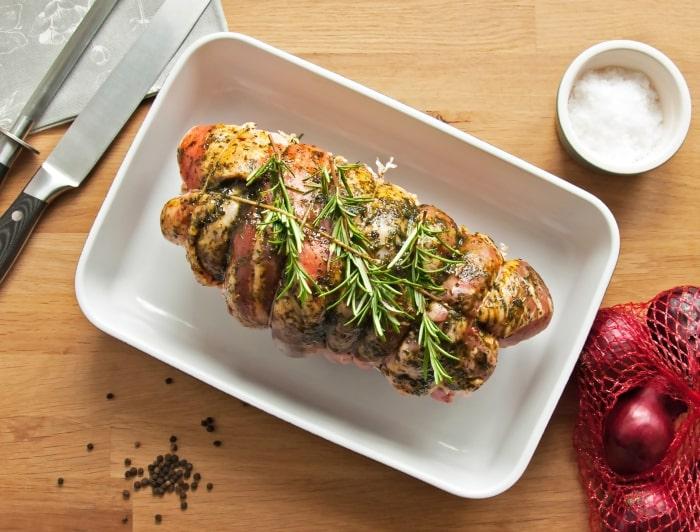 ローズマリー,肉料理